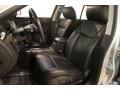 2010 Cadillac DTS Ebony Interior Front Seat Photo