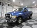2002 Atlantic Blue Pearl Dodge Ram 1500 ST Regular Cab  photo #3