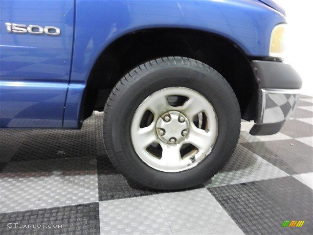 2002 Ram 1500 ST Regular Cab - Atlantic Blue Pearl / Dark Slate Gray photo #8