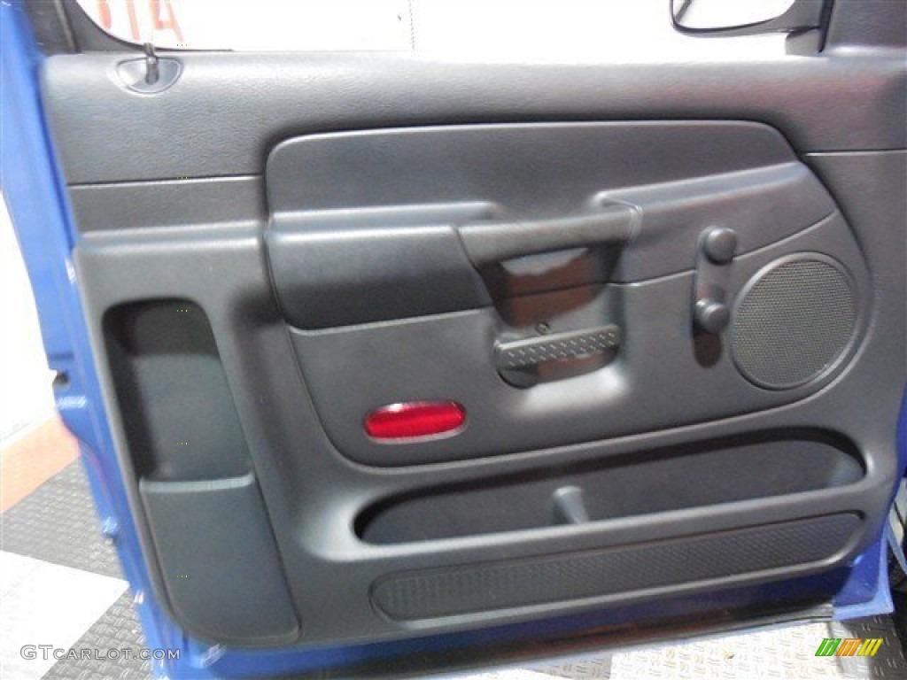 2002 Ram 1500 ST Regular Cab - Atlantic Blue Pearl / Dark Slate Gray photo #9