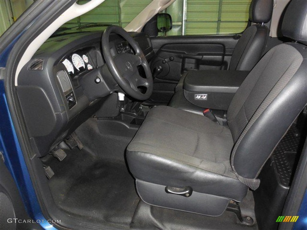 2002 Ram 1500 ST Regular Cab - Atlantic Blue Pearl / Dark Slate Gray photo #10