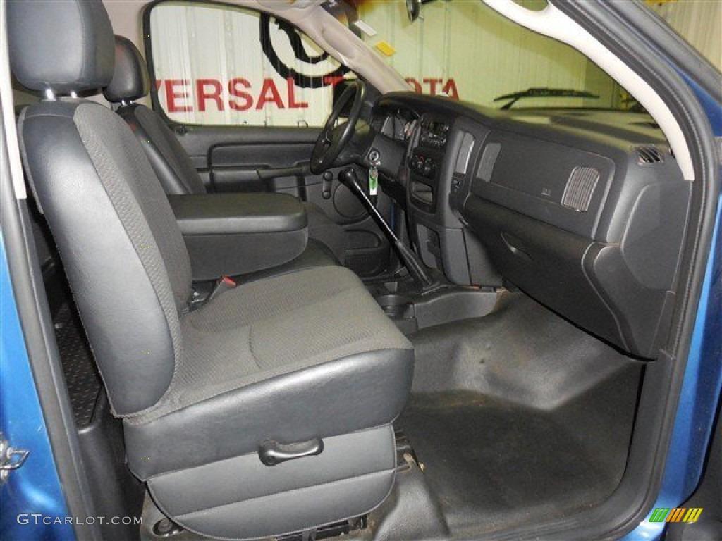 2002 Ram 1500 ST Regular Cab - Atlantic Blue Pearl / Dark Slate Gray photo #16