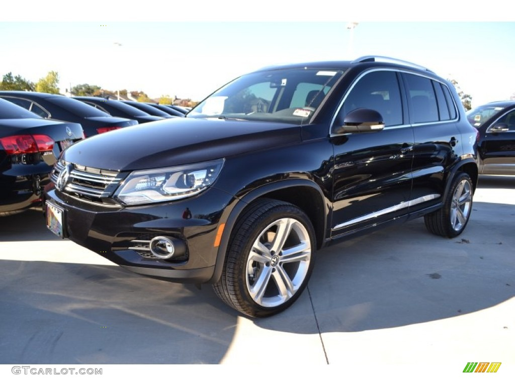 2014 deep black metallic volkswagen tiguan r line. Black Bedroom Furniture Sets. Home Design Ideas