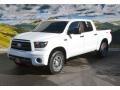 2013 Super White Toyota Tundra TRD Rock Warrior CrewMax 4x4  photo #5