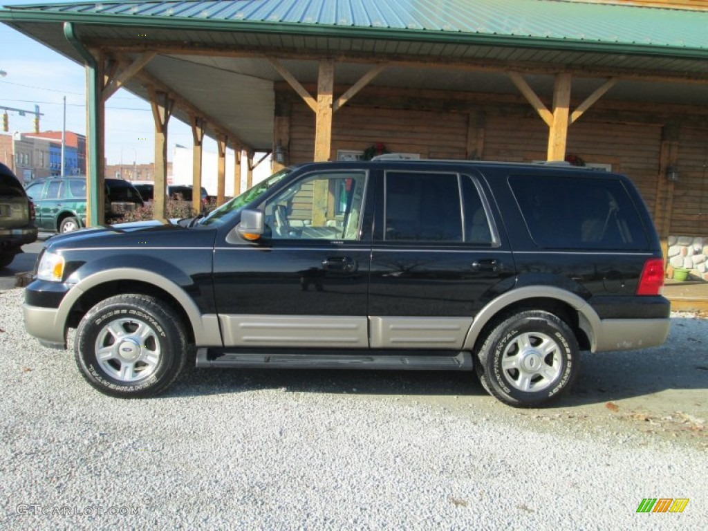 black clearcoat 2003 ford expedition eddie bauer 4x4 exterior photo 88356457. Black Bedroom Furniture Sets. Home Design Ideas