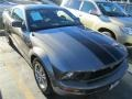 2005 Mineral Grey Metallic Ford Mustang V6 Deluxe Coupe #88349106
