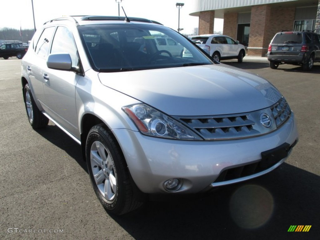 2007 Murano SL AWD - Brilliant Silver Metallic / Charcoal photo #2