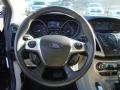 2012 Tuxedo Black Metallic Ford Focus SEL Sedan  photo #13