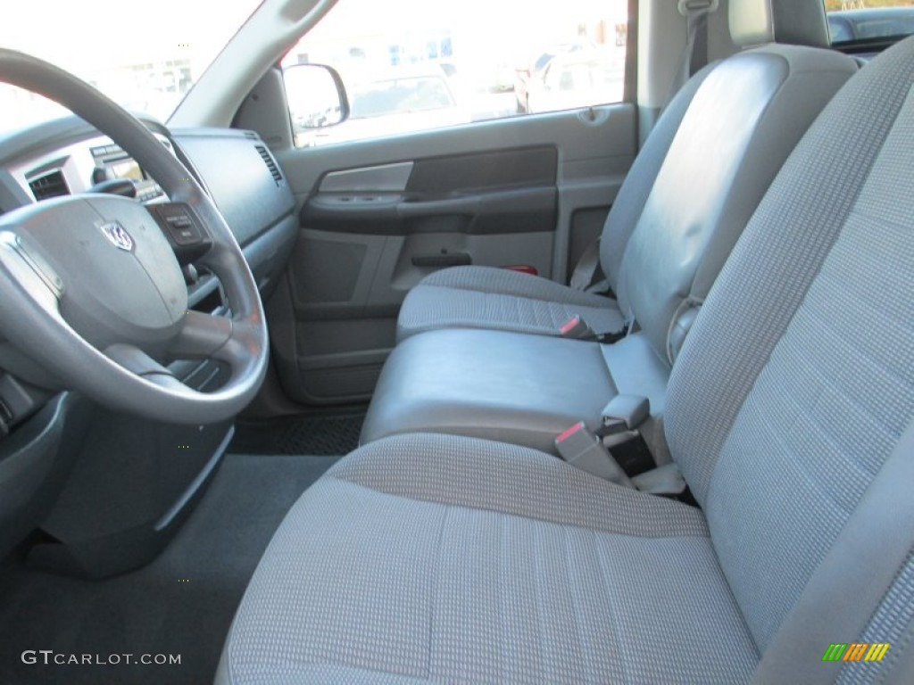 2008 Ram 1500 SLT Regular Cab - Patriot Blue Pearl / Medium Slate Gray photo #15
