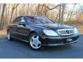 designo Mocha Black Metallic 2002 Mercedes-Benz S 600 Sedan