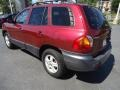 2004 Merlot Red Hyundai Santa Fe   photo #6