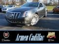 Phantom Gray Metallic 2014 Cadillac CTS 4 Coupe AWD