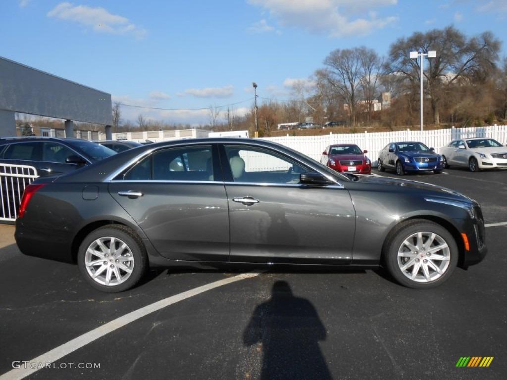 Phantom Gray Metallic 2014 Cadillac CTS Sedan AWD Exterior ...
