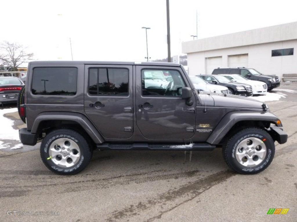 2014 Granite Metallic Jeep Wrangler Unlimited Sahara 4x4  88376197 Photo  5