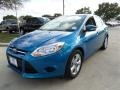 Blue Candy 2014 Ford Focus SE Sedan