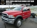 Flame Red - 5500 SLT Crew Cab 4x4 Chassis Photo No. 1