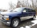 1999 Indigo Blue Metallic Chevrolet Silverado 1500 LS Z71 Extended Cab 4x4 #88406670