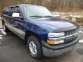 1999 Indigo Blue Metallic Chevrolet Silverado 1500 LS Z71 Extended Cab 4x4  photo #4