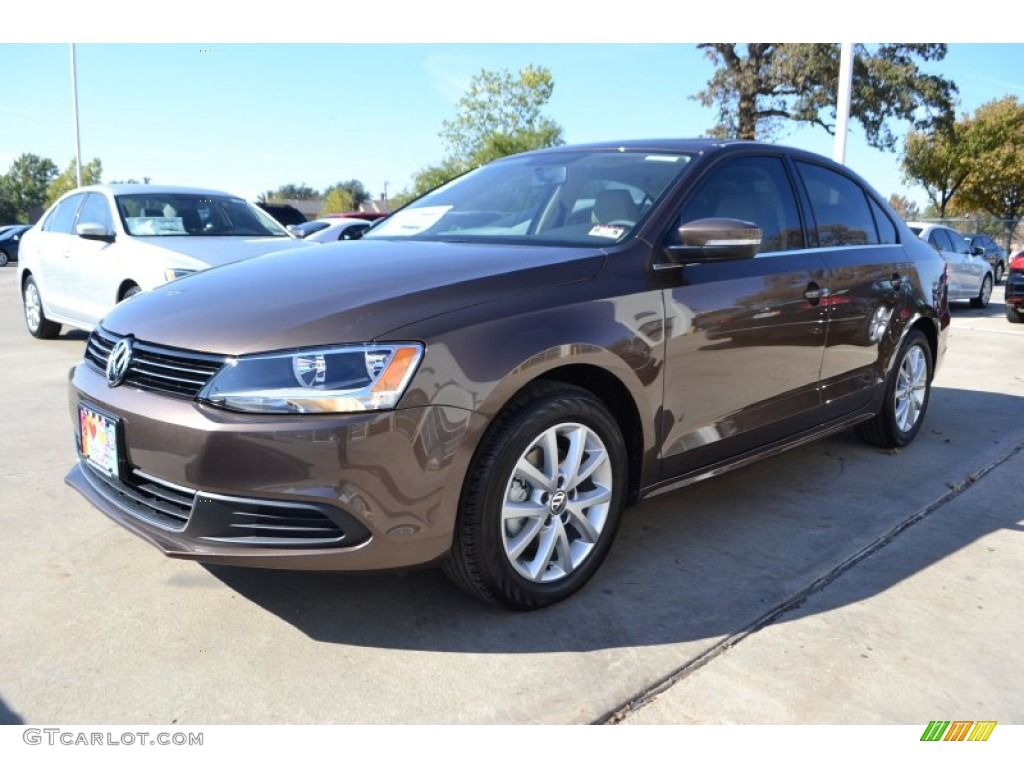 toffee brown metallic 2014 volkswagen jetta se sedan exterior photo 88428780. Black Bedroom Furniture Sets. Home Design Ideas