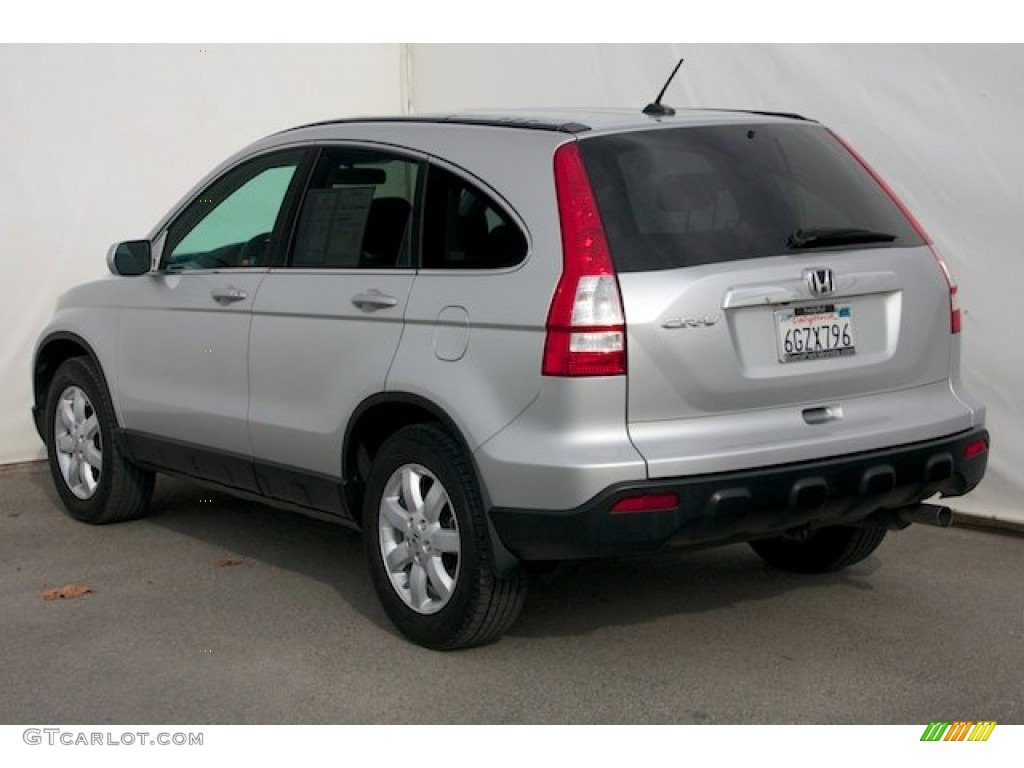 2009 CR-V EX-L - Alabaster Silver Metallic / Gray photo #2