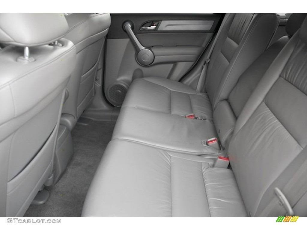 2009 CR-V EX-L - Alabaster Silver Metallic / Gray photo #4