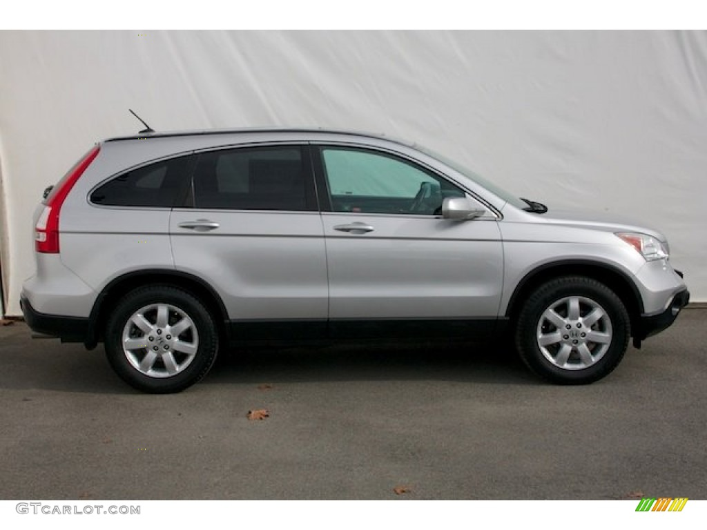 2009 CR-V EX-L - Alabaster Silver Metallic / Gray photo #11