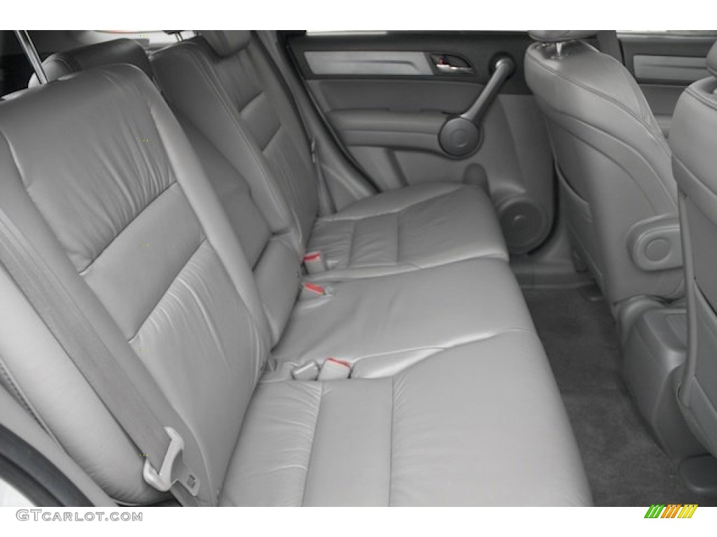 2009 CR-V EX-L - Alabaster Silver Metallic / Gray photo #18