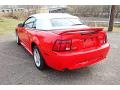 2000 Performance Red Ford Mustang GT Convertible  photo #5