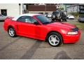 2000 Performance Red Ford Mustang GT Convertible  photo #10