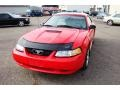 2000 Performance Red Ford Mustang GT Convertible  photo #13