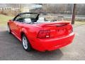 2000 Performance Red Ford Mustang GT Convertible  photo #37