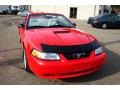 2000 Performance Red Ford Mustang GT Convertible  photo #44