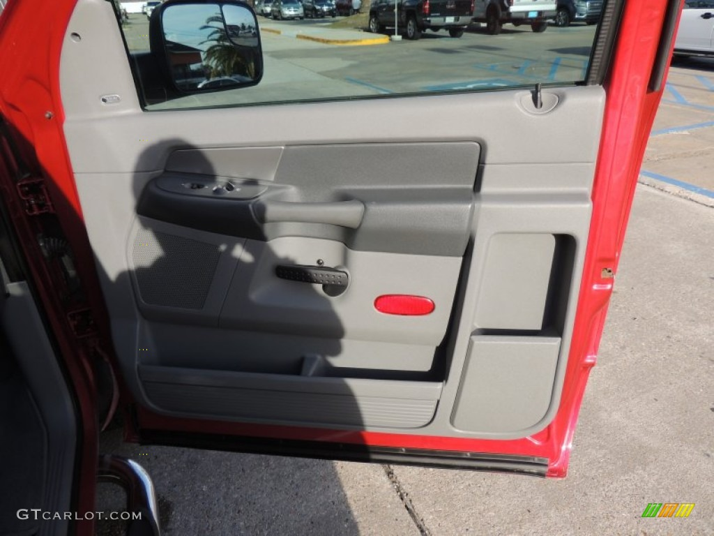 2009 Ram 3500 SLT Regular Cab Dually - Inferno Red Crystal Pearl / Medium Slate Gray photo #7