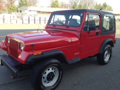 1992 Jeep Wrangler S 4x4 Data, Info and Specs