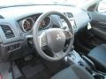 Black 2014 Mitsubishi Outlander Sport Interiors