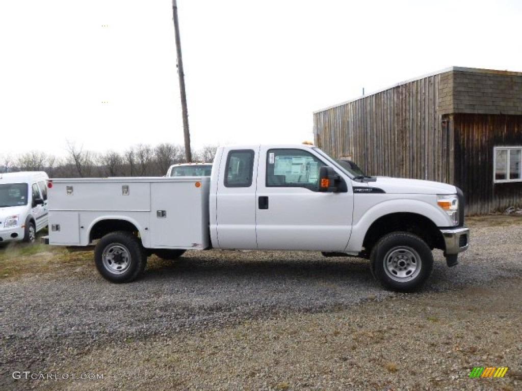 2014 F250 Super Duty XL SuperCab 4x4 Utility Truck
