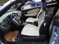 Black/Pearl 2014 Chrysler 200 Interiors