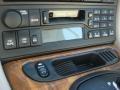 2000 Jaguar XK Oatmeal Interior Audio System Photo