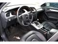 Black 2010 Audi A4 Interiors