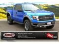 Blue Flame Metallic 2010 Ford F150 SVT Raptor SuperCab 4x4