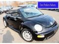 Black 2004 Volkswagen New Beetle GLS Convertible