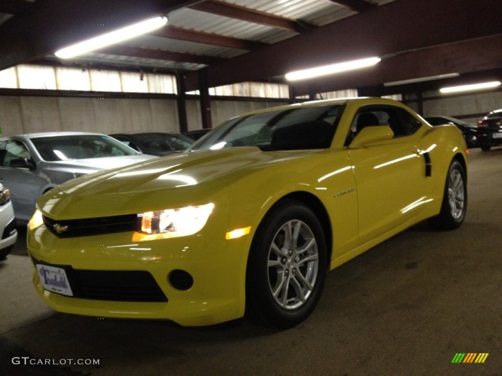 2014 bright yellow chevrolet camaro ls coupe 88531825. Black Bedroom Furniture Sets. Home Design Ideas