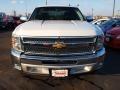 2012 Summit White Chevrolet Silverado 1500 LT Extended Cab  photo #7