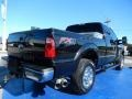 2012 Tuxedo Black Metallic Ford F250 Super Duty XLT SuperCab 4x4  photo #7