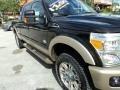 2012 Tuxedo Black Metallic Ford F250 Super Duty King Ranch Crew Cab 4x4  photo #4