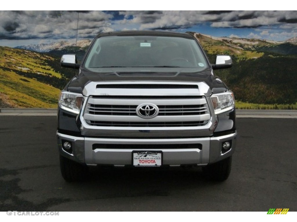 2014 Tundra 1794 Edition Crewmax 4x4   Attitude Black Metallic / 1794  Edition Premium Brown Photo