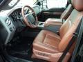 2012 Tuxedo Black Metallic Ford F250 Super Duty King Ranch Crew Cab 4x4  photo #22