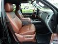 2012 Tuxedo Black Metallic Ford F250 Super Duty King Ranch Crew Cab 4x4  photo #25