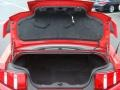 2010 Ford Mustang Brick Red Interior Trunk Photo