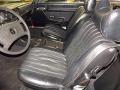 1977 SL Class 450 SL roadster Black Interior